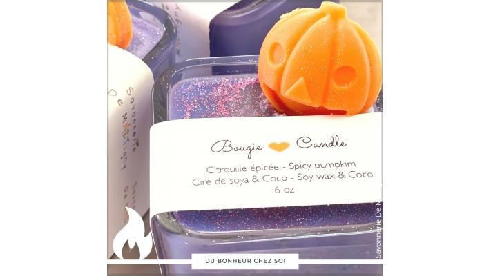 Bougie soja Pumpkin | 6 oz