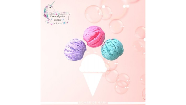 Bath bombs | Trio of little summer sweets