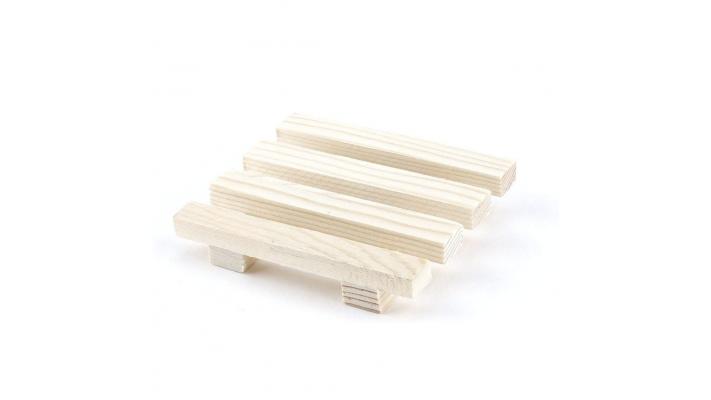 Porte-savons en bois