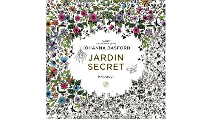 Le petit livre de coloriage, Jardin secret