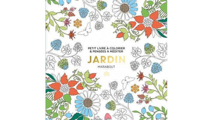 Le petit livre de coloriage, Jardin