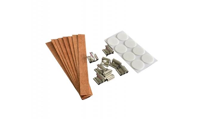 Mèches de bois et socles (8)