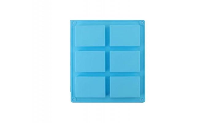 Moule bleue en silicone