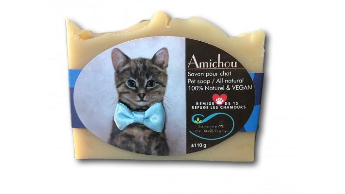 Savon Amichou pour chat | sans parfum