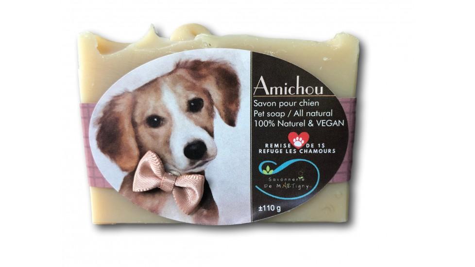 Amichou pour chien sans parfum