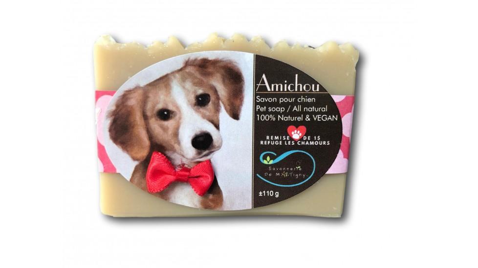 Amichou pour chien avec huiles essentielles